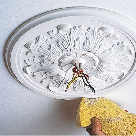 Install a Ceiling Rose