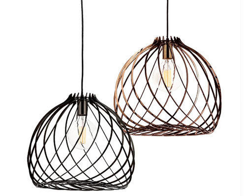 CLUB pendants in small, medium and large from Spazio lighting