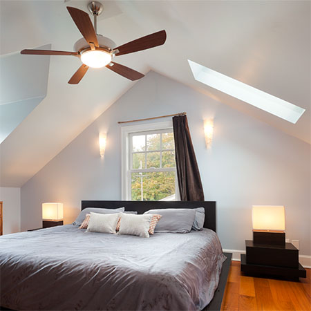 HOME-DZINE | Energy efficient home - If you're looking to keep your home cool during the hot spring and summer, shop for a ceiling fan that has a reversable function.
