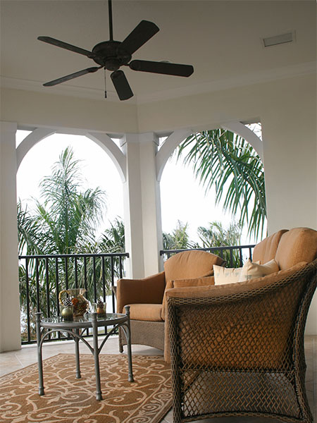 HOME-DZINE | Energy efficient home - The practical side of a ceiling fan is that it goes a long way to making a room more comfortable and helps to lower energy bills.