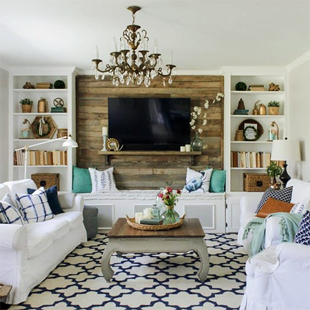 HOME-DZINE | Feature Wall Ideas - You can add instant impact to a space without spending a month's salary, with so many affordable choices to dress up a wall to create an accent or feature wall that is an eye-catching feature.