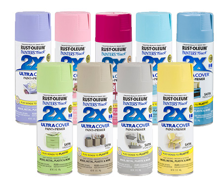 HOME-DZINE | Rust-Oleum 2X or Painter's Touch spray paint