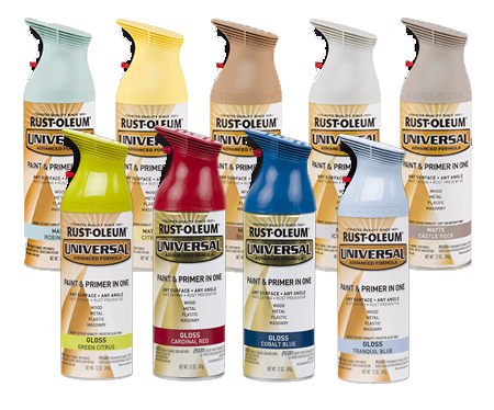 HOME-DZINE | Rust-Oleum Universal spray paint