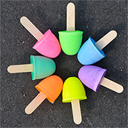 Make Colourful Chalk Pops