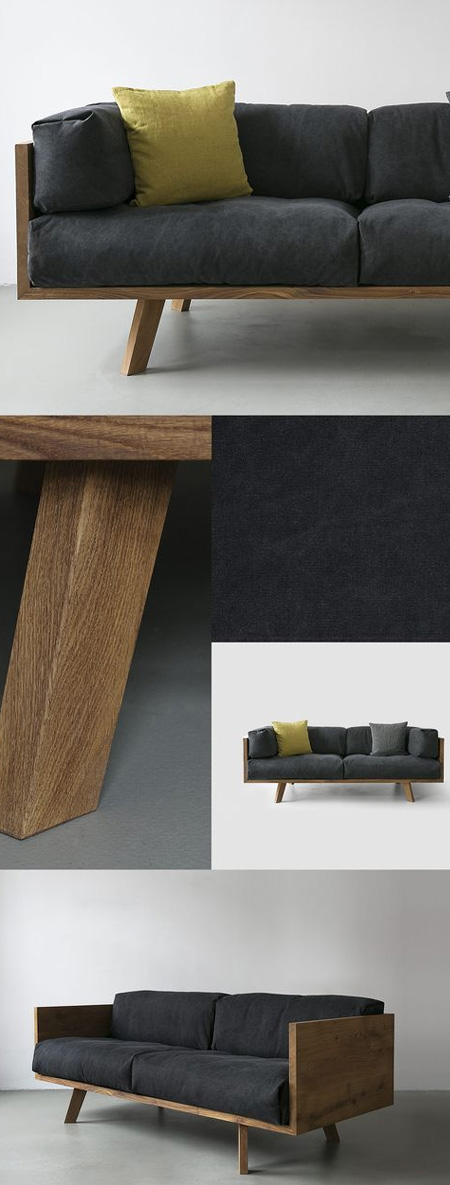 HOME-DZINE | DIY Sofa - As an alternative to expensive hardwoods, meranti and saligna don't cost quite as much and are strong enough to use for making your own furniture. The advantage of these two woods over pine is that, they don't expand and contract as much and are suitable for outdoor furniture.