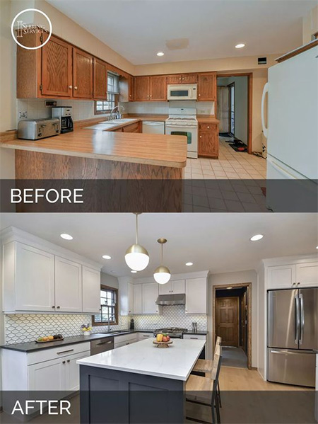 Before And After Kitchen Renovations