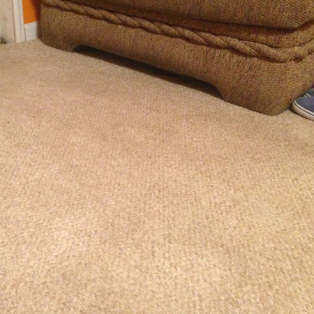 For carpet stains that have been there for some time, you can try a combination of bicarbonate of soda and white spirit vinegar