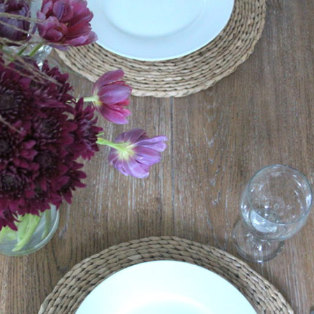 Give your dining table a new look with Liberon Liming Wax