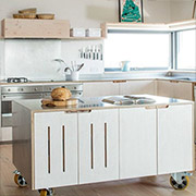 plywood kitchens