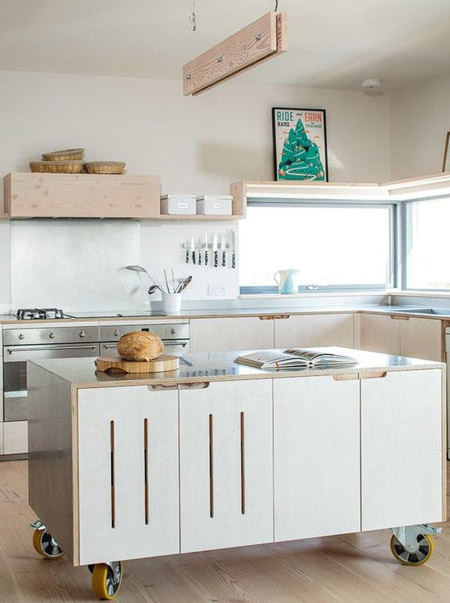 Plywood kitchen designs
