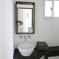 box frame mirror