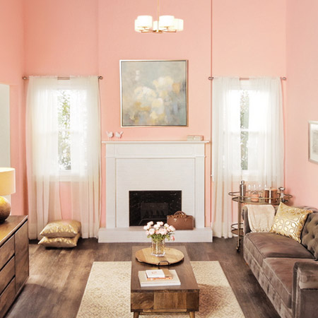 Easy Way to Paint a Fireplace