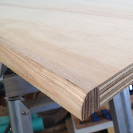 HOME DZINE Home DIY | Edging for plywood projects