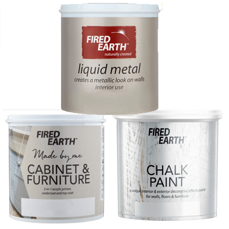 fired earth paint for furniture