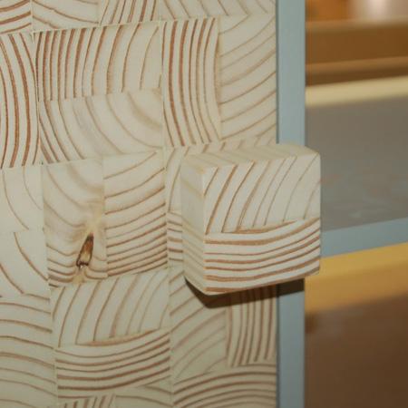 wood block handle