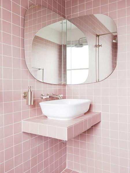 Home Dzine Bathrooms Pink