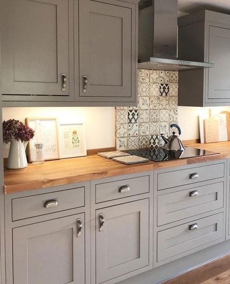 modern shaker kitchen design