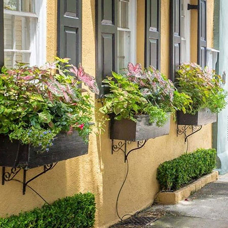 how to make colourful window box