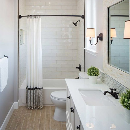 It's amazing what adding new textiles can do to a bathroom, whether it's replacing a dated shower curtain, to adding a few colourful, luxuriously fluffy towels.