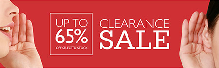 Save up to 65% on the Finishing Touches Clearance Sale