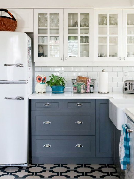 Ask for advice on the besgt paints to use for your particular kitchen, and if they don't know or can't help, do some online research to make sure you use the right paint for painting kitchen cabinets.