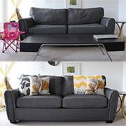 Quick Tip: Fresh look for saggy sofas