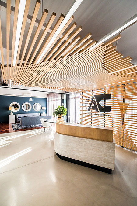HOME-DZINE | Interior Design - When leading supply chain management firm, Allport Cargo Services South Africa, sought to redesign the interiors of its Cape Town offices, it looked no further than award-winning design studio, Inhouse.