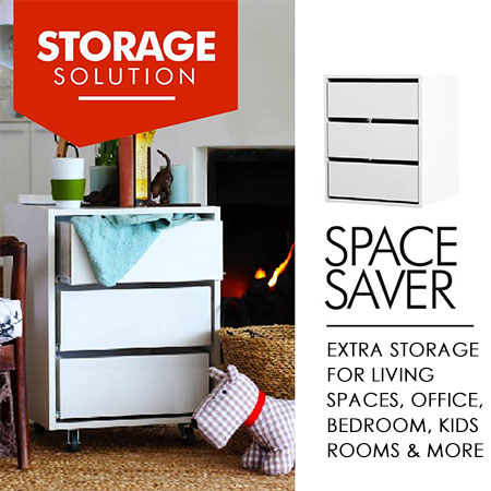 HOME-DZINE | Storage Solutions - The UCAN Space Saver range