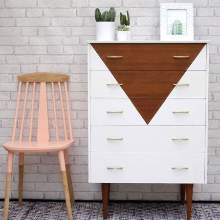 HOME-DZINE | Upcycle old furniture - Experiment with different designs - or go with what's trendy.