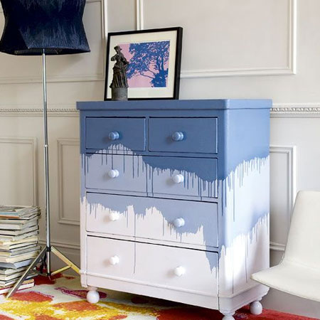 HOME-DZINE | Upcycle old furniture - funky makeover.