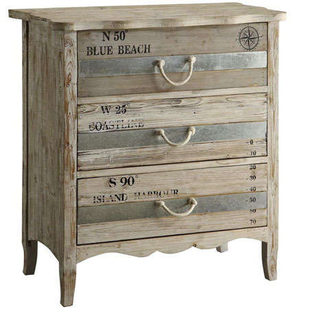 HOME-DZINE | Upcycle old furniture - Use chalk paint for a distressed finish, and fit roper handles for a beachy theme.