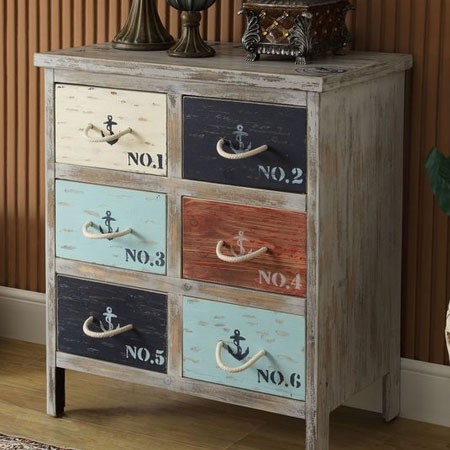 HOME-DZINE | Upcycle old furniture - Use chalk paint for a distressed finish, and fit roper handles for a coastal theme.