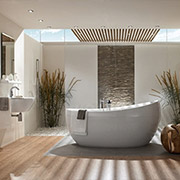 Add luxury to your master bath