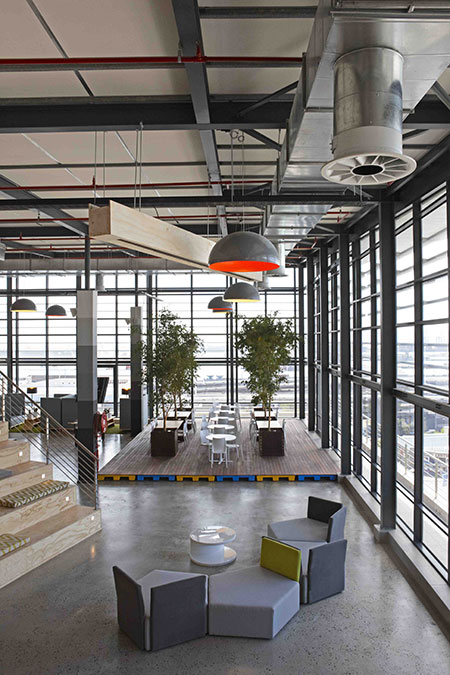 HOME-DZINE | Interior Design - Most of us spend at least one third of each working day at the office, so it is understandable that we'd want to be in an environment that doesn't suffocate, inhibit or reduce our productivity.