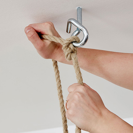 knots for hanging bed