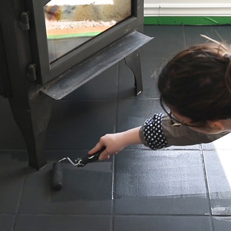 Home Dzine How To Paint Floor Tiles