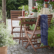 maintain garden furniture