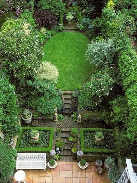 Home Dzine Garden Ideas Lush Urban Gardens For Small Space,Brown Shades Chocolate Brown Hair Color 2020