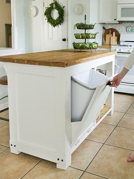 Home Dzine Kitchen Make Your Own Kitchen Island