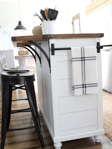 make diy kitchen island
