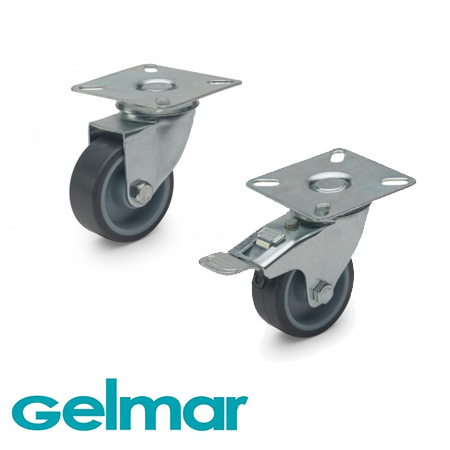 castor wheels at gelmar