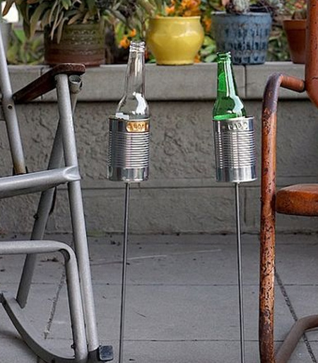 drink holder for outdoors