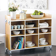 easy kitchen storage island