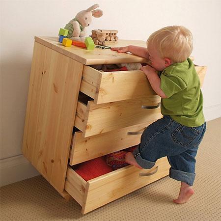 Home Dzine News Secure Children S Furniture To Walls