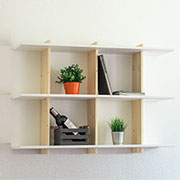 make floating shelf