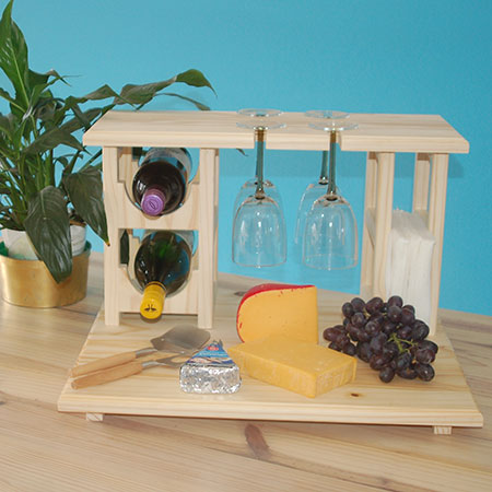 diy cheese and wine bar