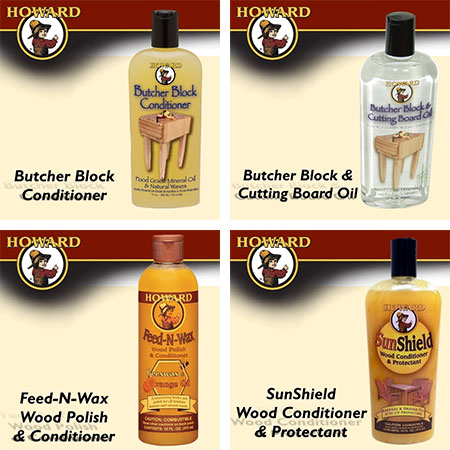 howard butcher block oil and conditioner