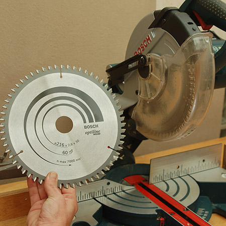 Home dzine home diy how to change mitre saw blade when youre using your mitre saw and your cut edges are not clean and greentooth Image collections