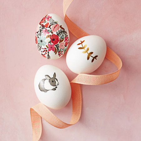 Draw your favourite designs onto assorted Easter eggs. Choose a theme that complements your Easter celebration decor.