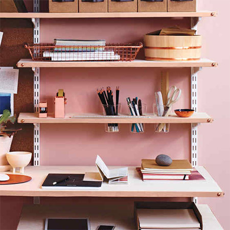 Buying shelving options at your local Builders is a great way to organise your home office, but sometimes you need to make a few tweaks for shelving to meet your needs.